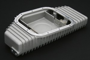 SR20DET用大容量アルミオイルパン