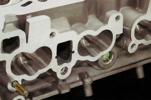 RB26ヘッド側インテークポート機械加工