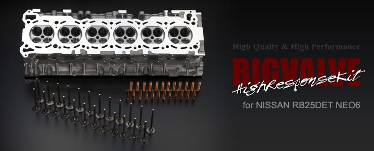 RB25DET Neo6 ハイレスポンスkit